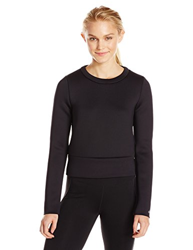 Alo Yoga Women's Alcove Long Sleeve Top, Black, M by Alo Yoga
