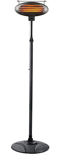 Standing Electric Heater (AZ Patio HIL-1500DI Tall Promotional Electric Heater)