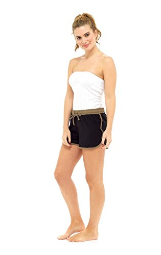 Black 40 Donna Soxy Pantaloncini 42 Khaki 1fYgWEqwIA