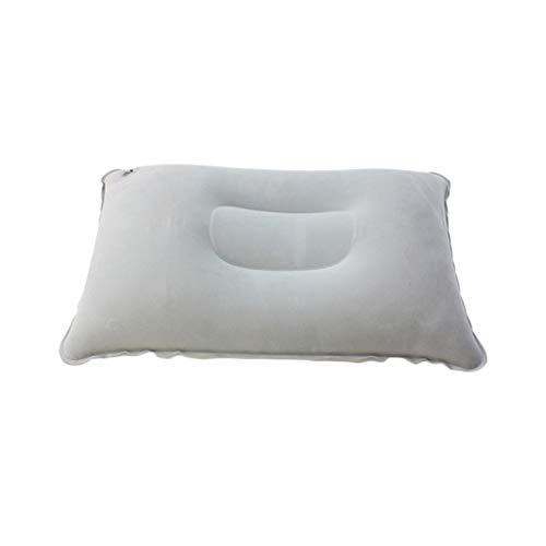 (Good4Yours Comfortable Folding U-Shaped Pillows Travel Portable Outdoor Neckrest Trip Slow Rebound Pillow 34x23cm Grey)