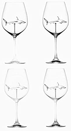 Copas De Champán, Tazas, Regalos Copas De Vino Tinto De Tiburón, Taza De Cristal Cáliz De Cristal Transparente De Plomo Para Boda, Copa De Vino Blanco Con Clase Soplada A Mano
