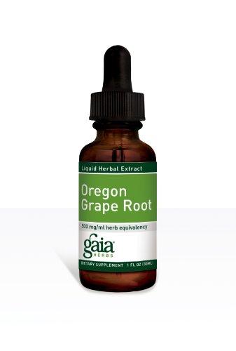Gaia Травы Орегон винограда корень, 1-Унция бутылки (в упаковке 2)