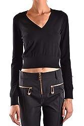 Versus Versace Women S Bd80643bk01027b1008 Black Viscose Sweater