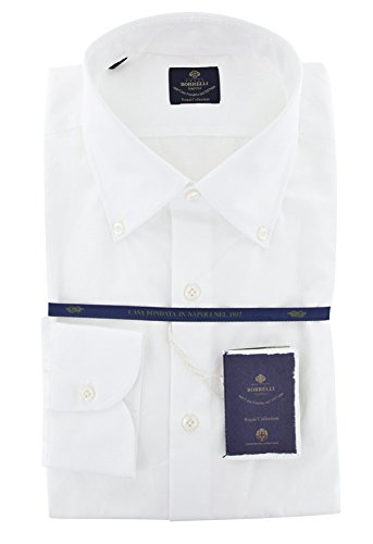 new-luigi-borrelli-white-solid-extra-slim-shirt