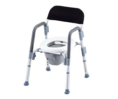 アズワン コンフォートトイレ椅子(折りたたみ式) HT2098 /8-4957-02 B00SUGVOII