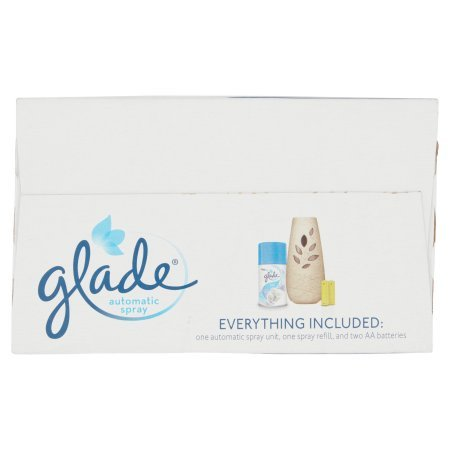 Pack of 4 - Glade Automatic Spray Air Freshener Starter Kit, Clean Linen, 6.2 Fluid oz, Blue by Glade (Image #7)