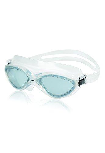 (Speedo Hydrospex Classic Mask Goggles, Smoke, One Size)