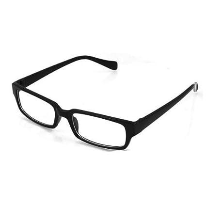 Montura para Gafas negra plástica Critsal Transparente  Amazon.es ... 18e024b10250