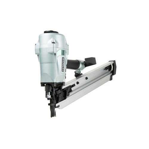 Hitachi NR90AC5 Framing Nailer for LVL, 2-3/8″ to 3-1/2″ Plastic Collated Nails, 0.162″, Full Head, 21 Degrees