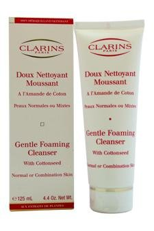 Price comparison product image Clarins Gentle Foaming Cleanser With Cottonseed ( Normal / Combination Skin --125ml/4.4oz