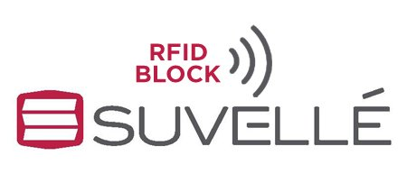 Suvelle RFID Blocking Travel Neck Stash Security Pouch Concealed Passport Holder Anti Theft Hidden Wallet
