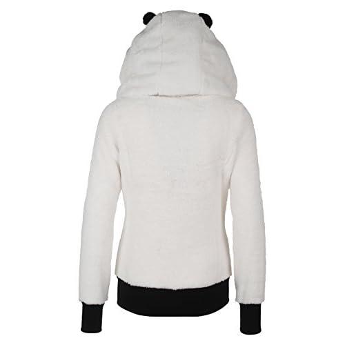 Douce Femme Sublevel Panda Veste Polaire Manteau De En ATxn0Swn