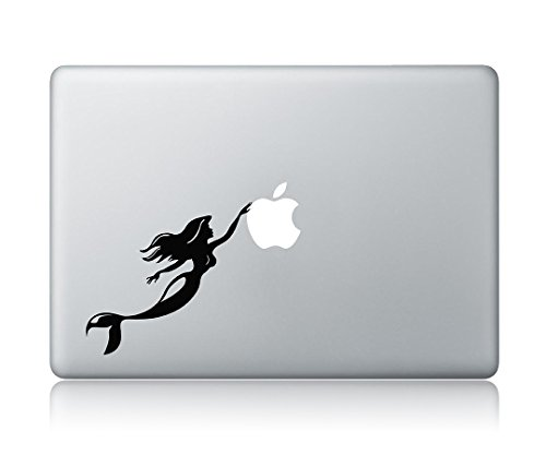 Princess Ariel The Little Mermaid Disney Apple Macbook Air Pro Laptop Vinyl Sticker Decal