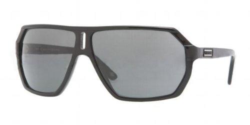 Amazon.com: Versace anteojos de sol VE 4197 GB1/81 Negro 64 ...