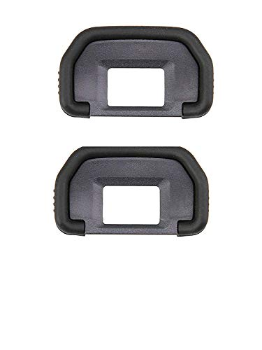 [2 Pack] Shenligod EB Viewfinder Eyepiece Eyecup Eye Cup Rubber for Canon EOS 5D Mark II 5D 50D 40D 60DCamera