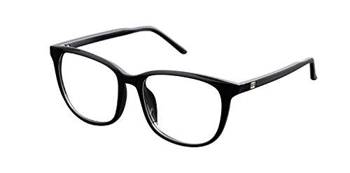 De Ding Damen Brillengestell Schwarz schwarz