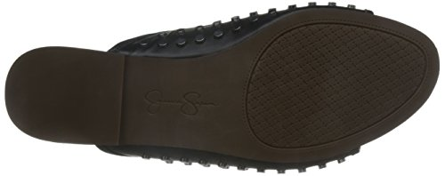 Jessica Simpson Women's Kloe Slide Sandal, Brown, Medium Black