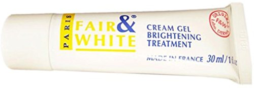 Fair and White Whitening Gel Creme 1 oz (Pack of 12) by Fair & White