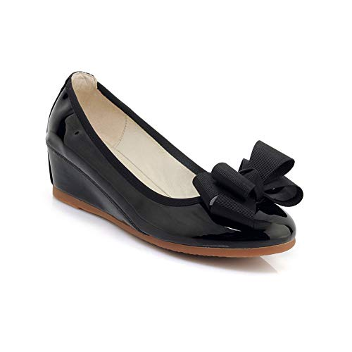Compensées Sandales Femme Noir Noir 5 EU 36 MMS06394 1TO9 E7qxSS