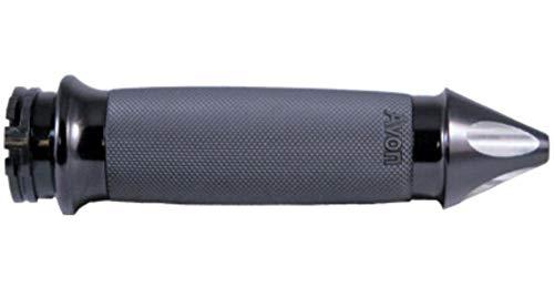 (Avon Grips Custom Contour Black Spike Grips CC-86-ANO-SPIKE-FLY )