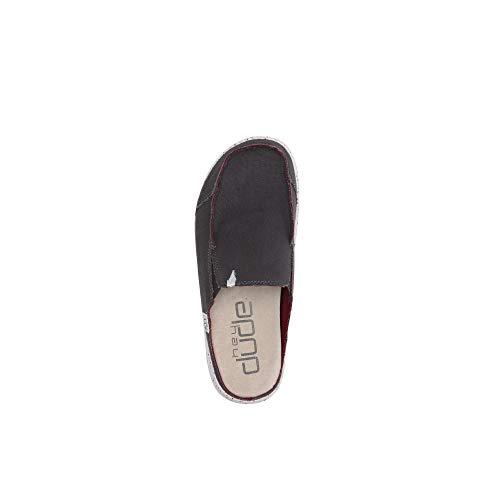 Shoes Slip Burdeos Mula Dude Martin Hombres En Gris Funk Oscuro A0vCwq