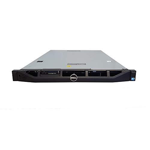 PCSP R410 12-Core 2 93GHz 1U Rack-Mounted Server 64GB RAM 4X 450GB SAS 15K  PERC6i 2X 500W RPS iDRAC6 Enterprise (Renewed)