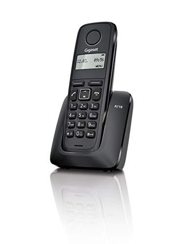 Telefono inalambrico DECT Gigaset A116 Negro [Produit d'import]