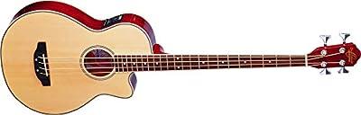 Oscar Schmidt OB100B-A-U 4-String Acoustic-Electric Bass