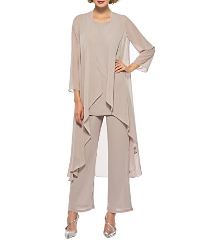 Womens 3 Piece Pant Suit - 1