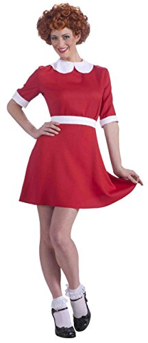 Annie Adult Costume - Standard - The Orphan Halloween Costume