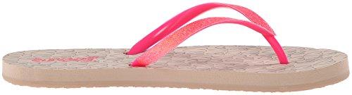Women's Prints Neon Taupe Stargazer Reef Pink Flip Flop gfqnTxdwBa