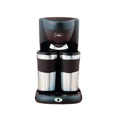 Amazon.com: Melitta me-2dtmb Dual taza térmica Coffeemaker ...