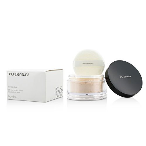 (Shu Uemura Lightbulb Glowing Face Powder #Colorless 15G/0.5Oz)
