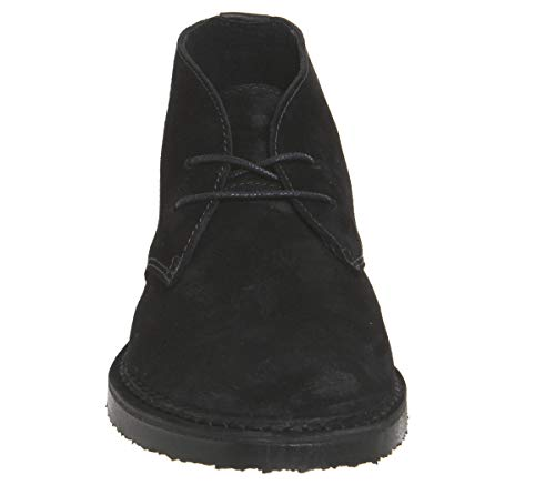 Boots Inferno Black Office Suede Desert R7dEwExqa