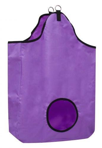 Showman Tough Tote Hay Bag Purple