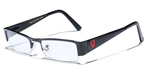 Small Rectangular Clear UV Lens Sunglasses RX Mens Womens Eye Glasses Flex - Frames Eyeglass For Small Women