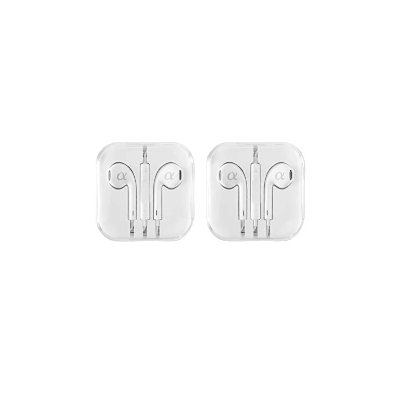 2 Pack Alphasonik Headphones, Earphones