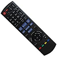 Hotsmtbang Replacement Remote Control For Panasonic N2QAYB000184 N2QAYB000378 DMP-BD55 DMP-BD77 EUR7658Y80 Blu-ray Disc DVD BD Player