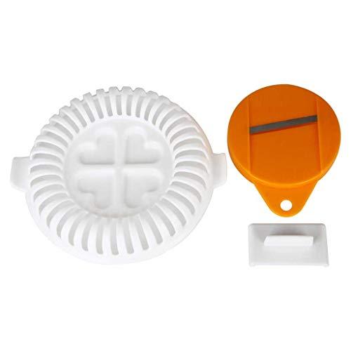 Potelin Premium Quality Plastic DIY Potato Chip Maker Vegtable Slicer Crisp Microwave New (Best Potatoes For Crisps)