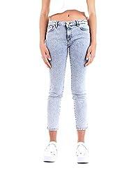 Trussardi Women S 56j000081t002321denim Blue Cotton Jeans