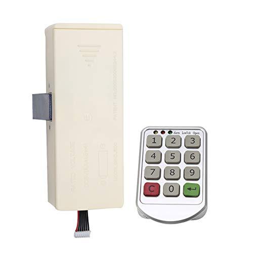 Electronic Cabinet Lock Kit Set, Keyless Digital Keypad Door Lock with Password Entry