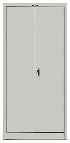 - Hallowell 855C18APL-AM Series MedSafe 800 Industrial Grade KD Combination Cabinet, Solid Door, Stationary, Assembled, 36