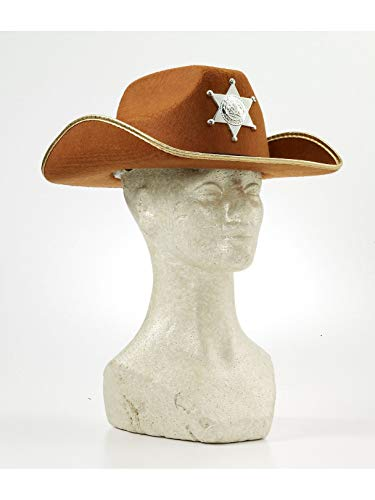 Forum Child Cowboy Hat with Badge, Brown]()