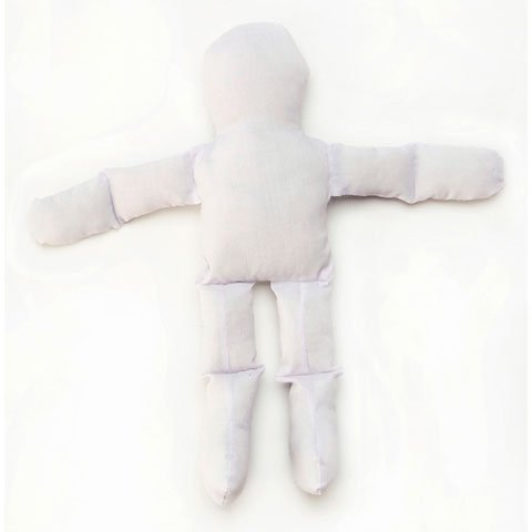 Muslin Doll - White - 12 inches (6-Pack)