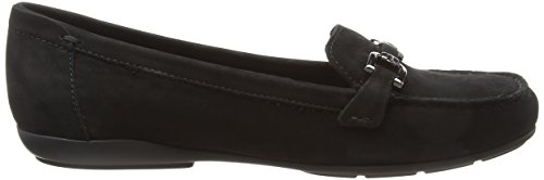 Donna Mocassini Moc Geox Annytah Black D C9999 Nero A xP46XR