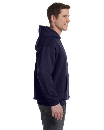 Hanes Mens EcoSmart Hooded Sweatshirt Large 1 Black + 1 Navy