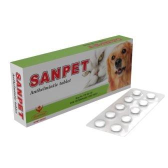 Sanpet Dog and Cat Worming Tablets (30 Tablets)