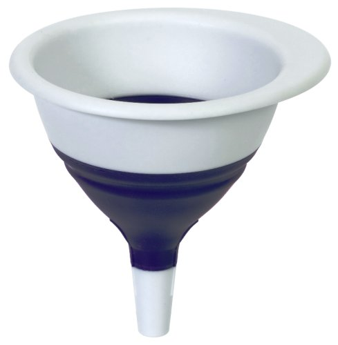 Progressive International Collapsible Funnel, Blue and White