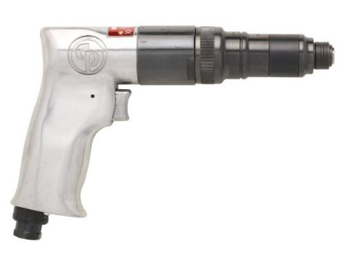 Pistol Grip Pneumatic Screwdriver - Chicago Pneumatic CP781 Pistol Grip Screwdriver with Roller Clutch And External Clutch Adjustment