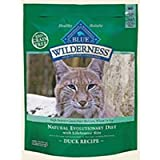 Blue Buffalo Wilderness Grain Free Dry Cat Food, Duck Recipe, 2-Pound Bag, My Pet Supplies